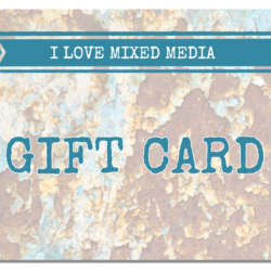 I Love Mixed Media Gift Card