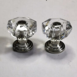Clear Knobs 2 pack