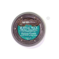 Patina Green Matte Wax