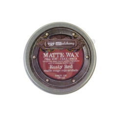 Rusty Red Matte Wax