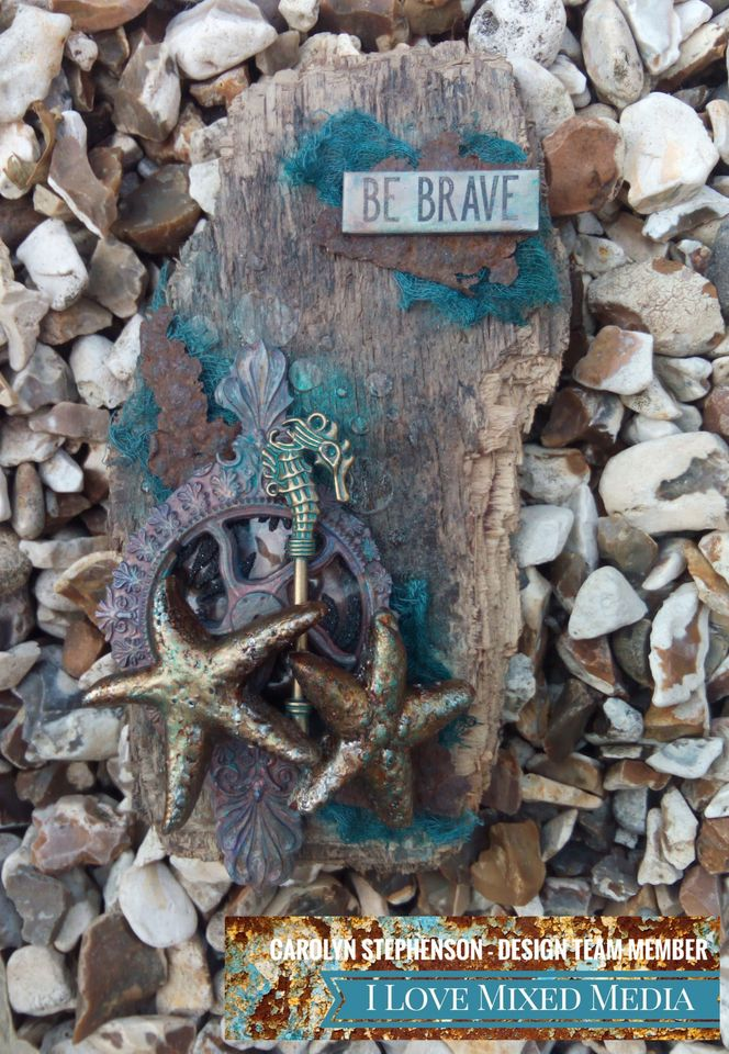 Be Brave By Carolyn