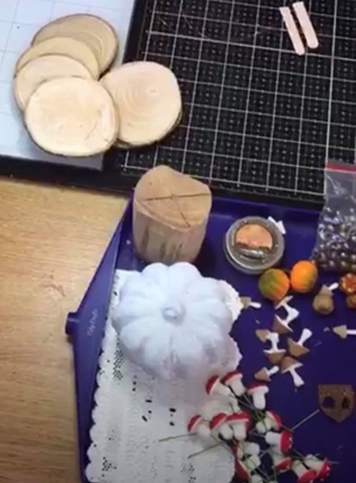 Pumpkin Tree House Materials