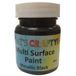 Metallic Black Multi Surface Paint