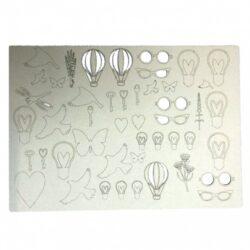 Balloons & Bulbs Beermat Board