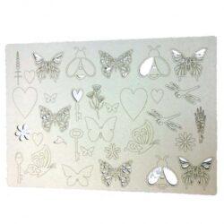 Bees & Butterflies Beermat Board