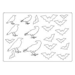 Bats & Crows Beermat Board