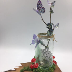 Butterfly Jar By Sue