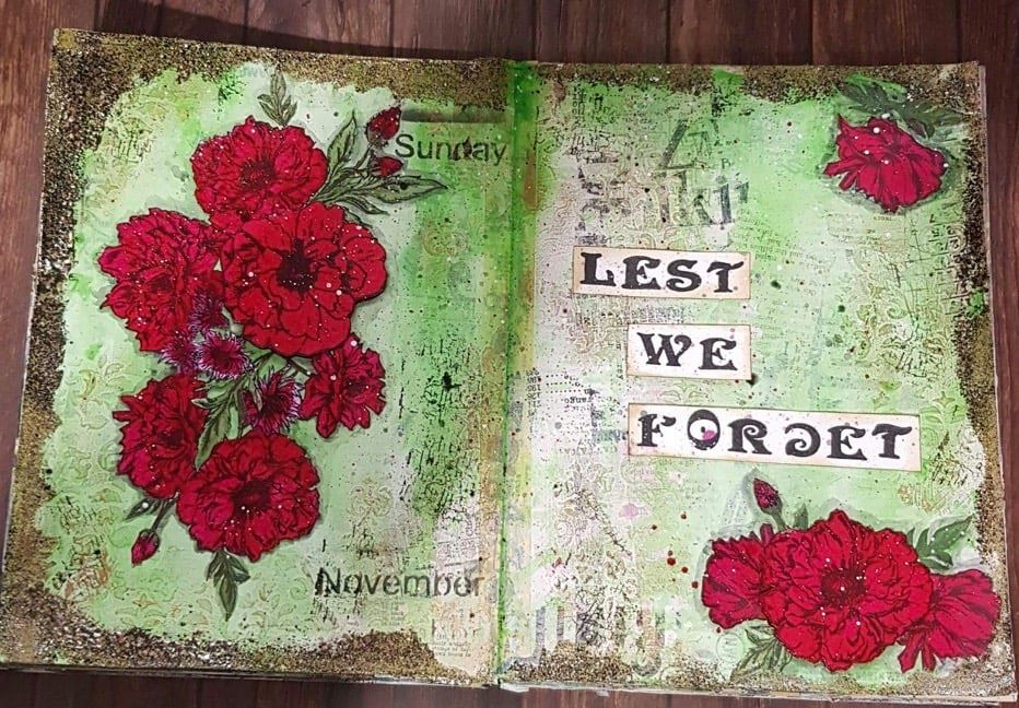 Lest We Forget By Leeanne