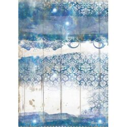 Romantic Sea Dream Texture A4 Rice Paper