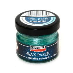 Turquoise Metallic Wax Paste